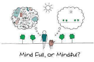Is Your Mind too Full to be Mindful?